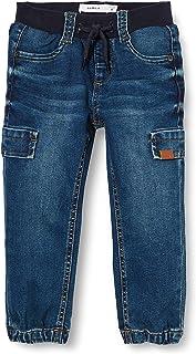 NAME IT Nmmbob Dnmcil Pant Camp Jeans para Niños