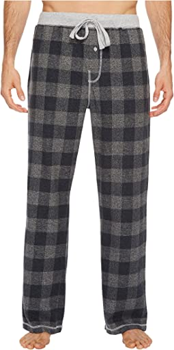 True Grit - Softest Vintage Melange Buffalo Check Flannel Pants