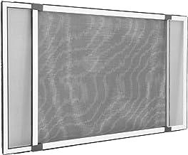 Jarolift Moustiquaire avec cadre pour fenêtre réglable/Easy Slide pour toutes les fenêtres et portes avec rails de volet roulant