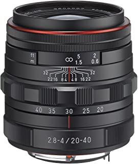 Pentax HD DA 20-40mm f/2.8-4 ED Limited DC WR Zoom Lens