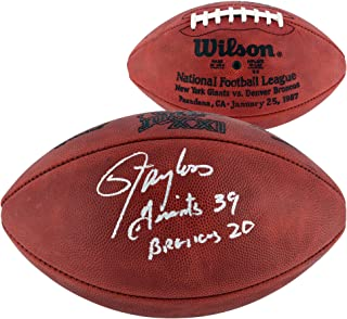 Lawrence Taylor New York Giants Autographed Superbowl XXI Football with