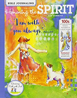 Bible Journaling: Honoring the Spirit, 100s of Inspirational Stickers, Traceables & Cutouts, Exclusive! Heirloom Bookplate