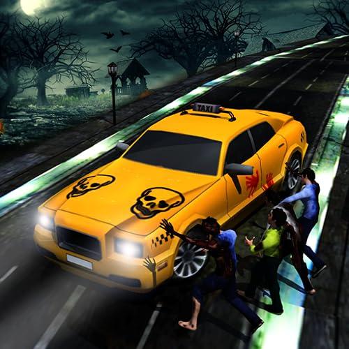ハロウィンナイトクレイジータクシードライバーゲーム2018:都市キャブゲームシミュレーターゲーム子供のための無料