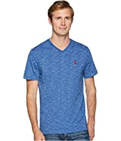 U.S. POLO ASSN. Space Dyed V-Neck T-Shirt