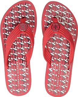 Tommy Hilfiger Women's Flat Beach Sandal Monogram Outdoor