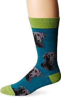 Mens' Novelty Crew Socks