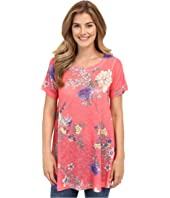 Nally & Millie - Pink Floral Tunic