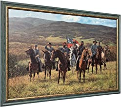 Bradley Schmehl RECONNAISSANCE AT MCDOWELL - Framed Canvas - Signed & Numbered Limited Edition Civil War Art