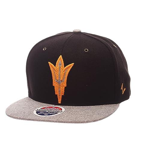 88f1e374 Zephyr NCAA Arizona State Sun Devils Adult Men's Executive Snapback Hat,  Adjustable Size, Team