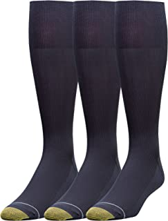 Men's 3-Pack Metropolitan Over-The-Calf Dress Socks