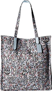 COACH Women's Coach X Keith Haring Tote Bp/Ice Pink One Size