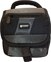 Panasonic HC-VX981K Camcorder Case Camcorder and Digital Camera Case - Carry Handle & Adjustable Shoulder Strap - Black / Grey - Replacement by Synergy