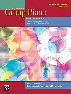 Alfred's Group Piano for Adults -- Popular Music, Bk