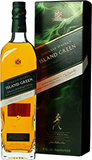 Johnnie Walker ISLAND GREEN Blended Malt Scotch Whisky Select Release mit Geschenkverpackung 1 x 1 l