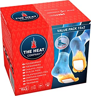 THE HEAT COMPANY Toewarmers - 5, 15 or 40 Pairs - EXTRA WARM