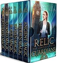 Relic Guardians Collection: Ancient Magic, Hidden Magic, Cursed Magic, and Gathered Magic. Plus the short stories, Stolen Magic and Rogue Magic.
