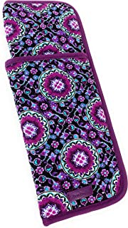 Vera Bradley Iconic Curling & Flat Iron Cover Lilac Medallion