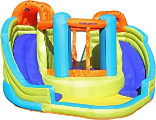 Sportspower Double Slide and Bounce Inflatable Water Slide