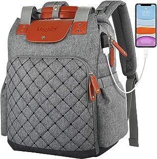 Laptop Backpack for Women, Checkered Work Travel School...