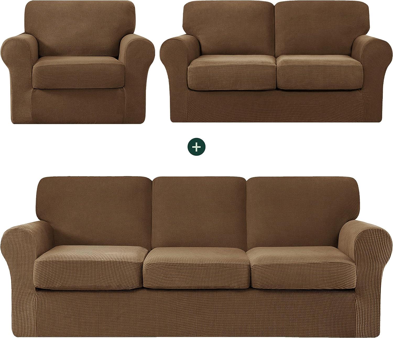 CHUN YI Baltimore Mall online shopping Small Armchair Sofa Bundles Cover Loveseat