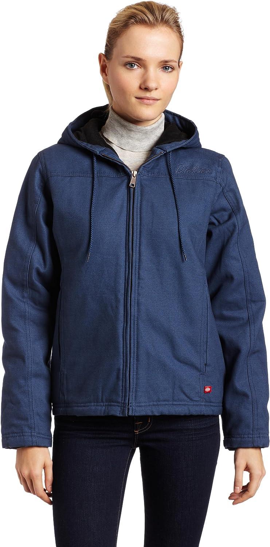 Dickies Women's Sanded Duck Hooded Jacket