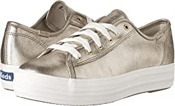 Triple Kick Metallic Suede