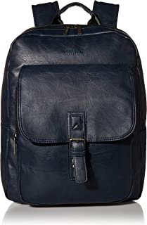 Kenneth Cole Reaction Faux Leather Backpack Business