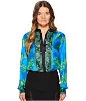 Versace Collection - Camicia Donna Tessuto Button Up Blouse
