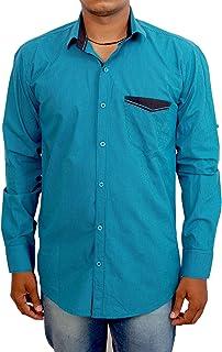 Peter John Casual Shirt Dark Blue