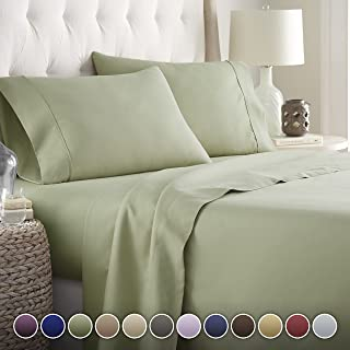 Hotel Luxury Bed Sheets Set– 1800 Series Platinum Collection-Deep Pocket, Wrinkle..