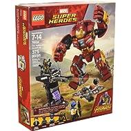 LEGO Marvel Super Heroes Avengers: Infinity War The Hulkbuster Smash-Up 76104 Building Kit (375...