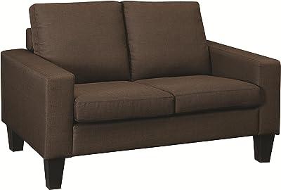 Amazon.com: Loni M. Designs Madison Love Seat, Teal: Kitchen ...