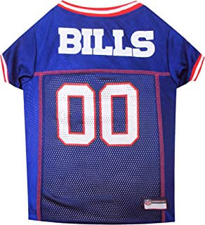 NFL BUFFALO BILLS DOG Jersey, Small Shirt Apparel Jersey Cute Outfit for DOGS, CATS, Puppies, Kittens & Small Animals