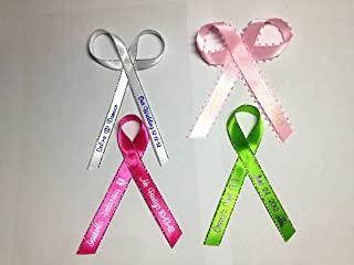 200 Personalized Favor Printed Ribbon 1/4