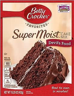 Betty Crocker Super Moist Cake Mix Devil's Food 15.25 oz Box