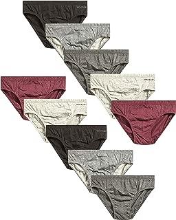 Men's Low Rise Underwear Briefs (10 Pack)