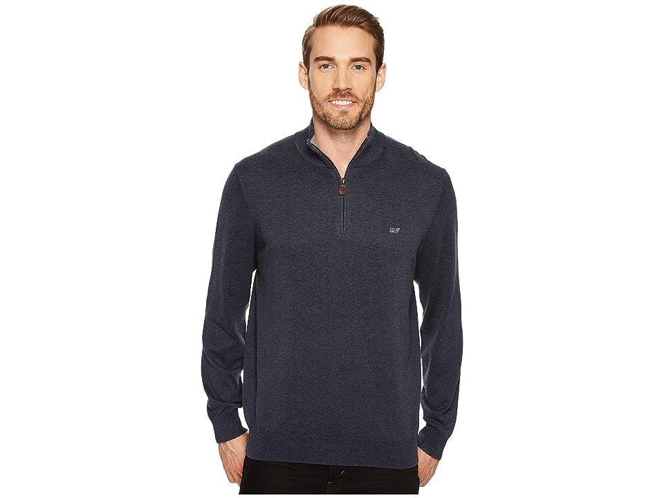 Vineyard Vines Cotton 1/4 Zip Sweater (Hyannis) Men