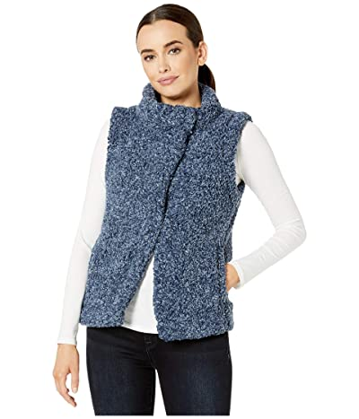 Dylan by True Grit Faux-Shearling Pile Cozy Vest with Soft Knit Lining (Midnight) Women