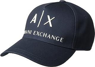 709b3b47940ff8 Armani Exchange Corp Logo Baseball Cap Gorra de béisbol, Azul Navy 37735,  Única (