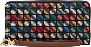 Fossil Women's Wallet, 7.75''L x 0.75''W x 4''H, Multicoloured