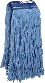 Rubbermaid Commercial FGF55900BL00 Premium 8-Ply Cut-End Blend Mop, 32-ounce, 5-inch Blue Headband