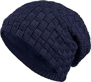 7 Strass Steine Nieten Jersey Baumwolle elastisches Long Slouch Beanie Damen M/ütze Heather Winterm/ütze