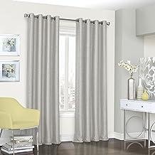 ECLIPSE 52 بوصة × 18 بوصة قصيرة نافذة ستائر التعتيم الحمام ، غرفة المعيشة والمطابخ ، والمنتجعات الصحية