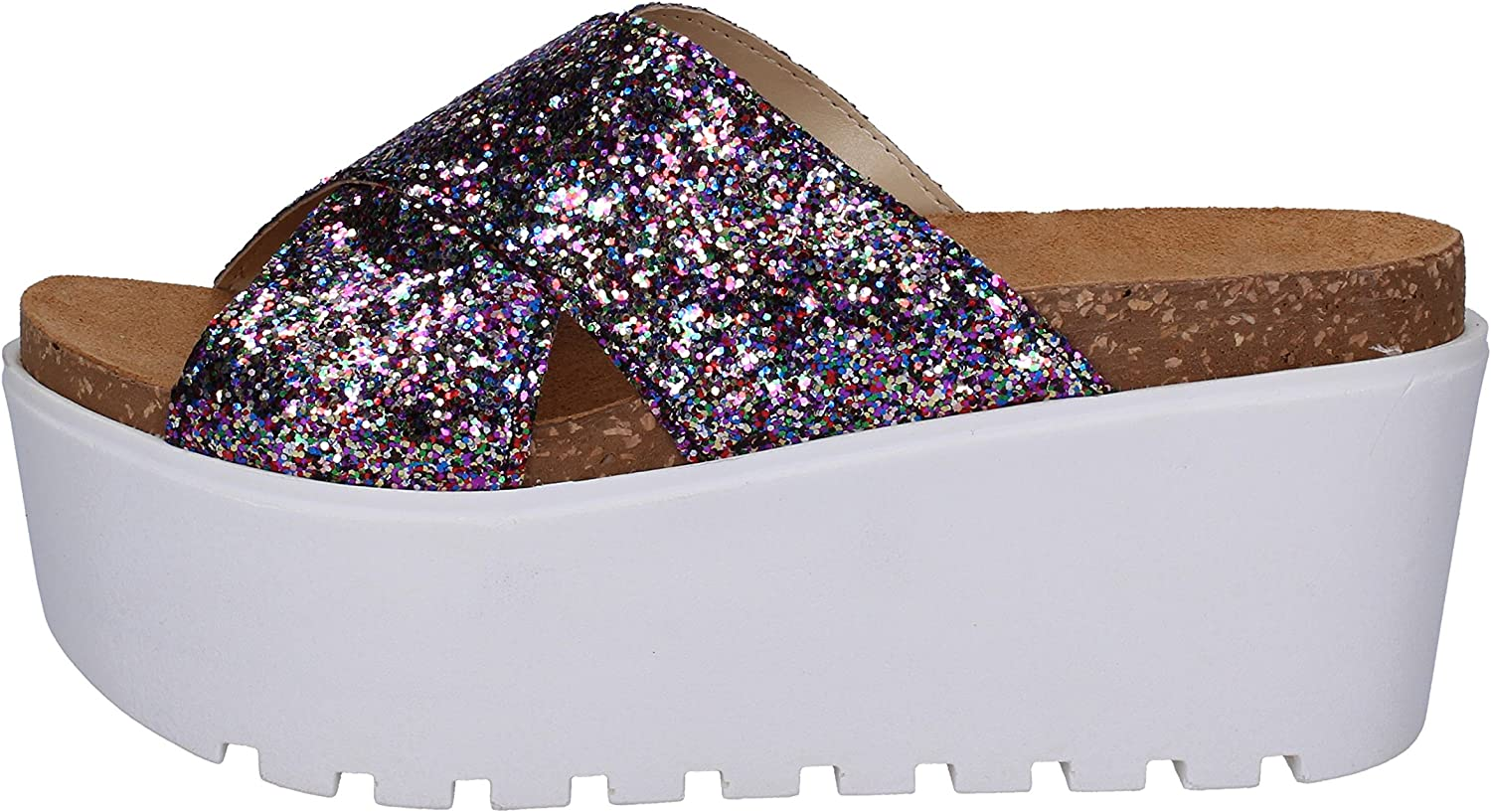 MANUFACTURE SESTE Sandals Womens Multicoloured