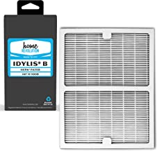 Home Revolution Replacement HEPA Filter, Fits Idylis IAP-10-125 and IAP-10-150 Air Purifiers and Type B Part IAF-H-100B