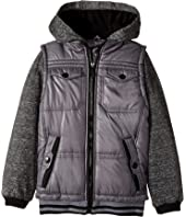 Urban Republic Kids - Varsity Fleece Hoodie (Little Kids/Big Kids)