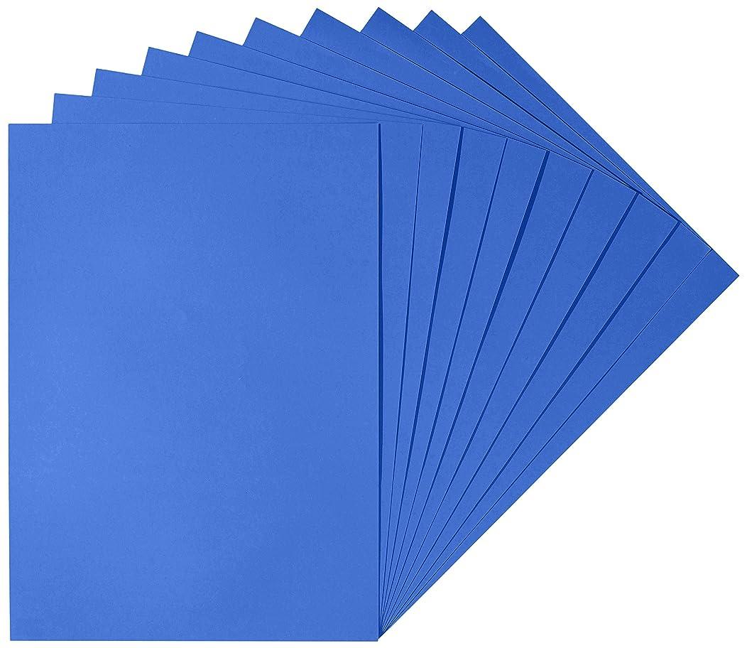 Herlitz 227108?Drawing Card 50?x 70?cm, White (Pack of 10) Dark Blue