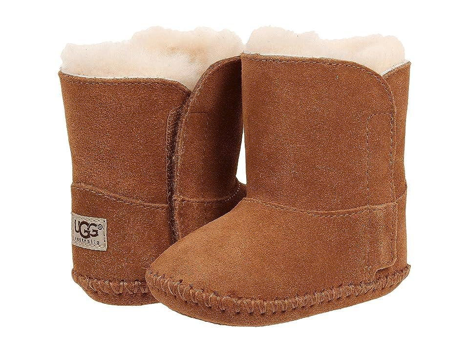 UGG Kids Caden (Infant/Toddler) (Chestnut Suede) Kids Shoes