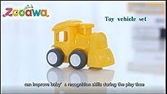 Amazon.com : labebe - 4 Wheels Walker for Baby, Wooden Push ...