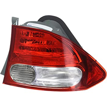 TYC 11-6165-01 Honda Civic Passenger Side Replacement Tail Light Assembly